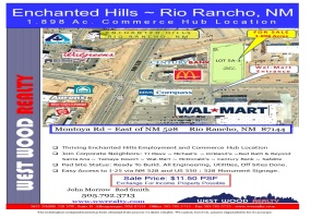 7941 Montoya Rd, Rio Rancho, New Mexico 87144, ,Vacant Land,For Sale,Montoya Rd,1089