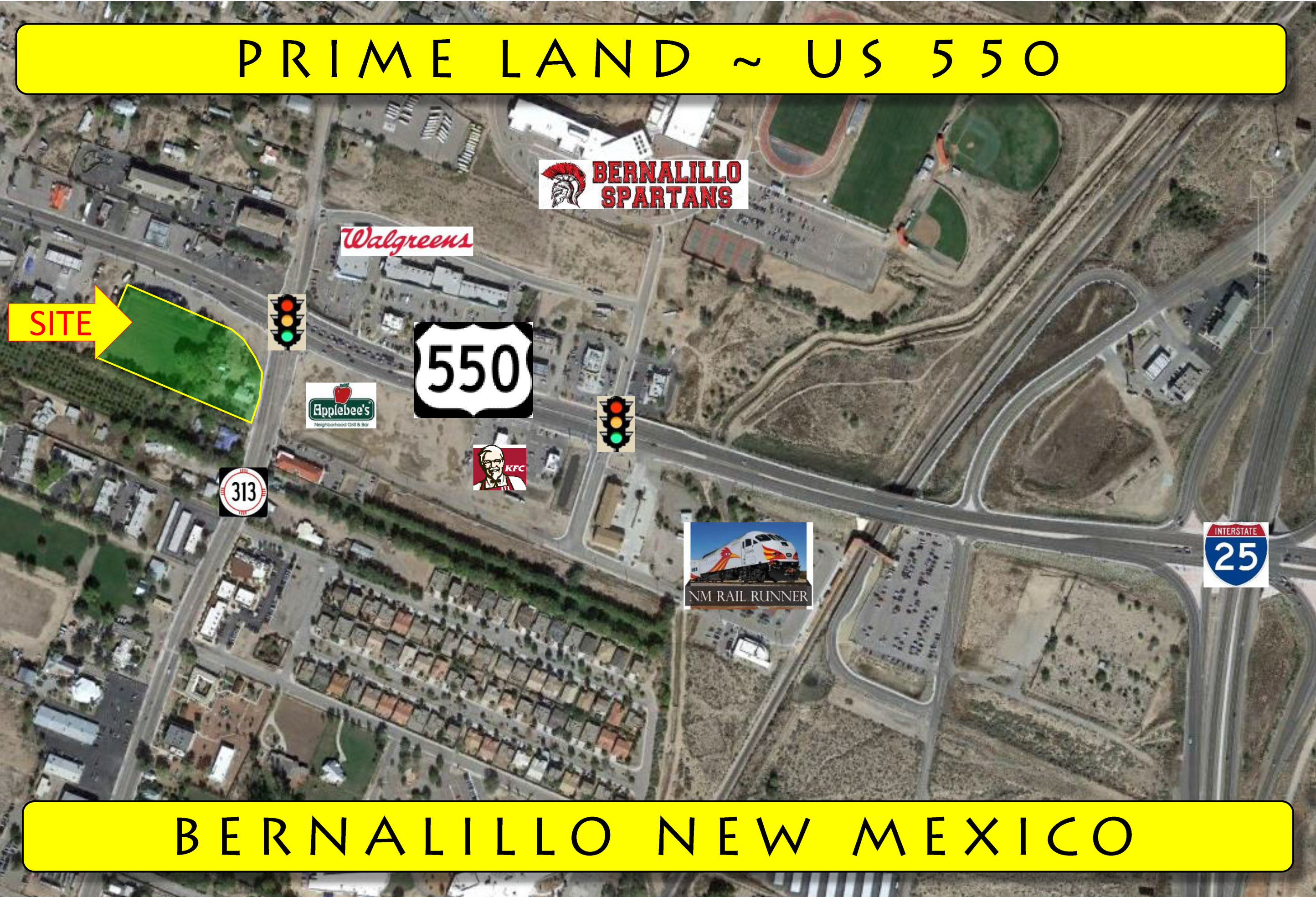 NM 313 US 550, Bernalillo, New Mexico 87004, ,Vacant Land,For Sale,US 550,1044