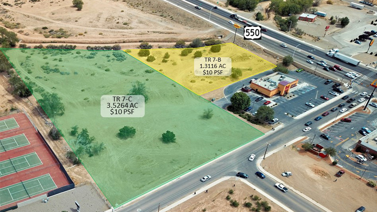 Bernalillo,New Mexico,US 550,Commercial Land